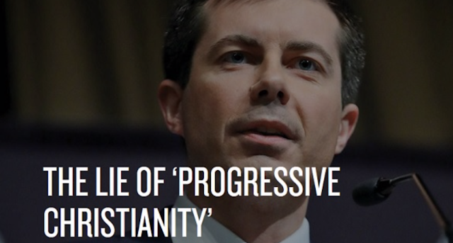 Billy Graham mag calls out Mayor Pete for the 'lie of progressive Christianity'