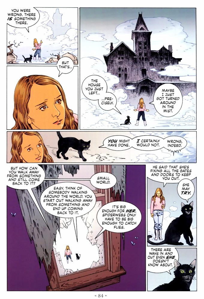 Read page 84, from Nail Gaiman and P. Craig Russell's Coraline graphic novel