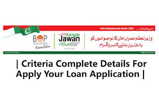 Kamyab Jawan Program Criteria