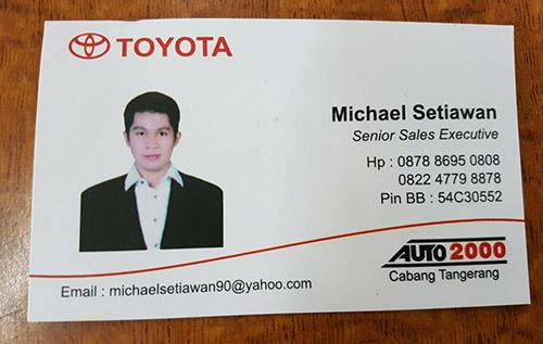 Toyota Gading Serpong Tangerang