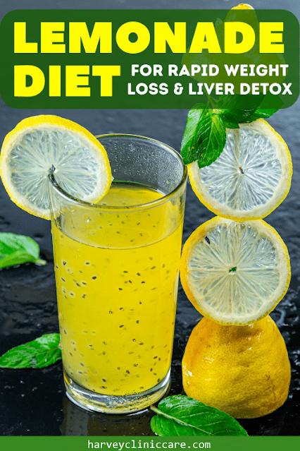 Lemonade Diet To Detox Your Body and Burn Fat!