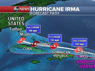 Hurricane Irma Kills 9 in Caribbean Islands