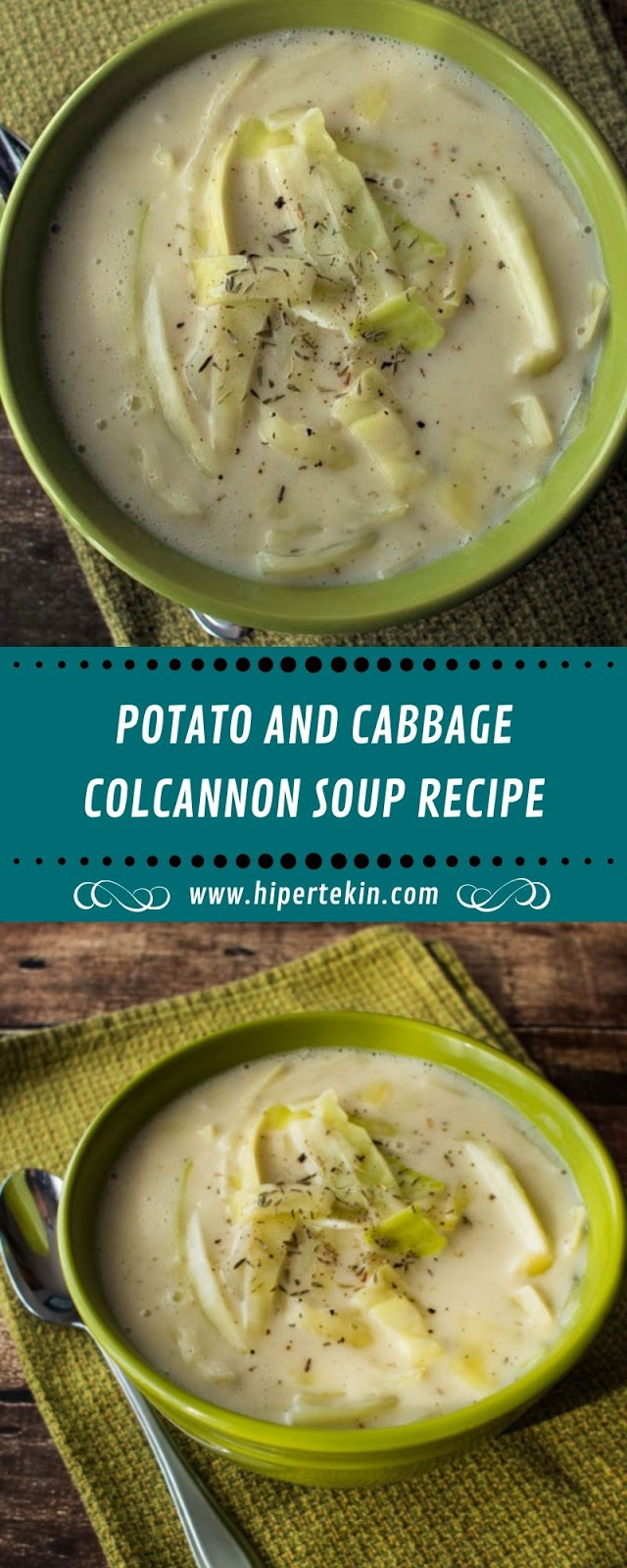 POTATO AND CABBAGE COLCANNON SOUP RECIPE