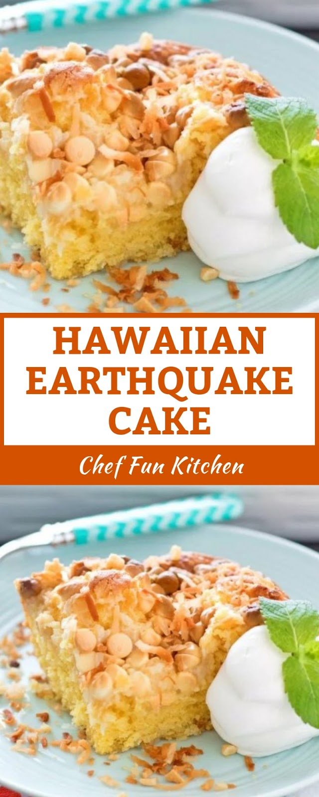 HAWAIIAN EARTHQUAKECAKE