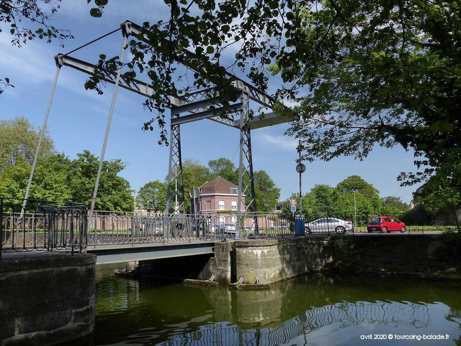 Pont du Halot, Canal de Tourcoing, 2020