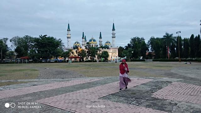jogging di alun-alun kota tuban