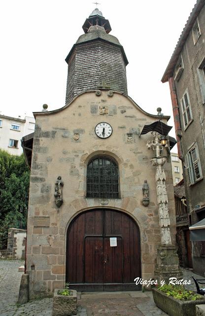 Capilla de Saint Aurelien de Limoges
