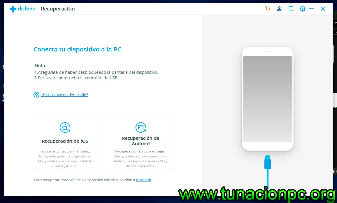Descargar Wondershare Dr Fone Toolkit for iOS Full Español