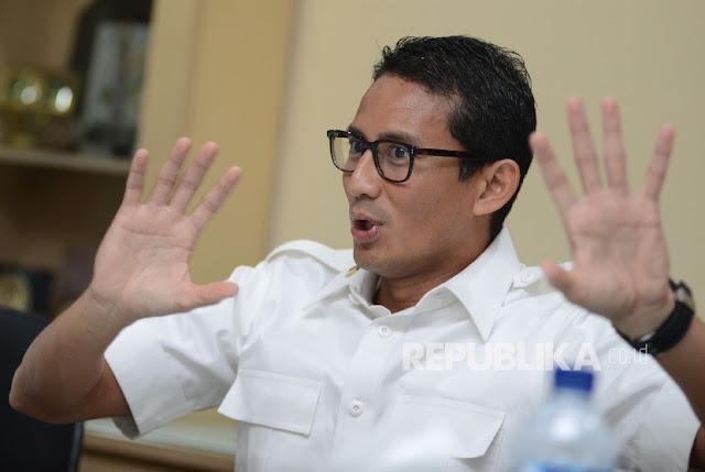 Sandi Pastikan Dirinya Tidak Kembali Duduki Kursi Wakil Gubernur DKI Jakarta