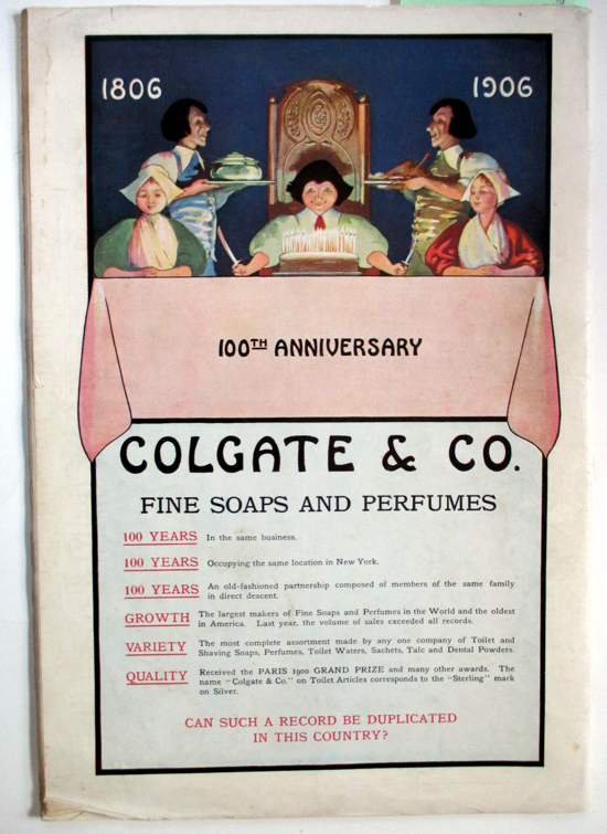 Colgate 100th Anniversary
