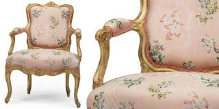 poltrona, Luigi XV, legno dorato