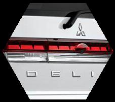 Tailgate Mitsubishi Delica