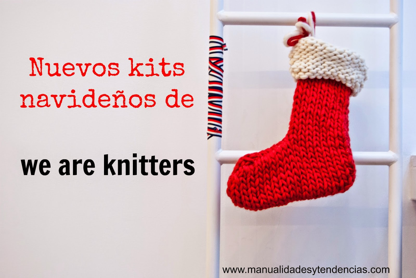 Kits navideños de We are knitters