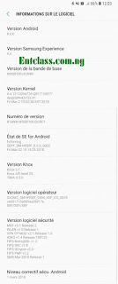 Samsung Galaxy Note 8 Android Oreo update
