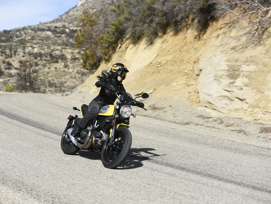 Ducati Scrambler Classic : Woman Perspective...   Real Riders