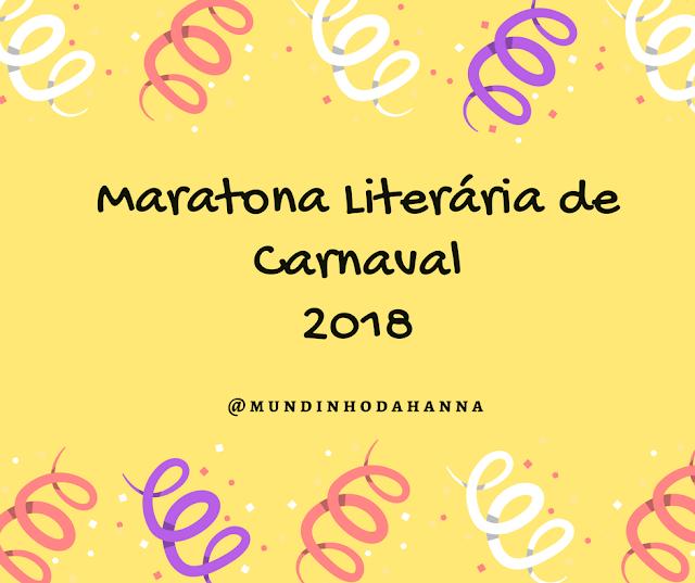 Maratona literária de carnaval