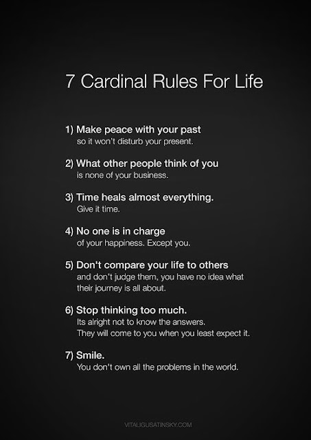 7 rules for happiness