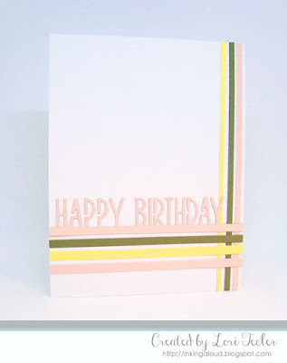 Happy Birthday card-designed by Lori Tecler/Inking Aloud-dies from Lil' Inker Designs