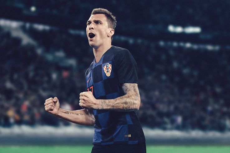 Croatia 2018 World Cup Away Kit Revealed - Footy Headlines a01640319