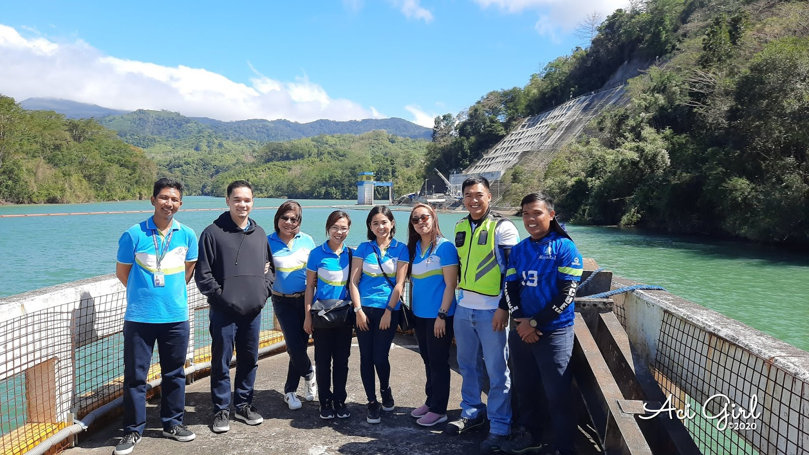 Team Maynilad   (L-R) Water Supply Operations: Mr.Marvin Villanueva and Mr. Rodel Tumandao.   Corporate Communications: Ms. Grace Laxa, Ms. Zye Cartel, Ms. Lalaine Tiangco and Ms. Jess Leobrera,   Corporate Quality, Environment, Safety, and Health Mr. Alexis Madison Datong and Mr. Julio Meneses