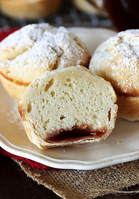 Grandma's Echo Cakes Filled with Strawberry Jam Image