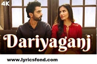Daryaganj LYRICS – Jai Mummy Di | Arijit Singh