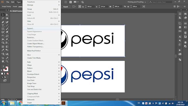 Chuyển Logo file ảnh sang file vector