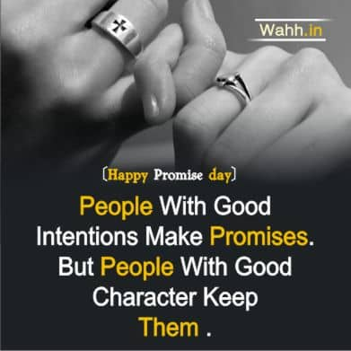 Promise Day  Whatsapp Quotes