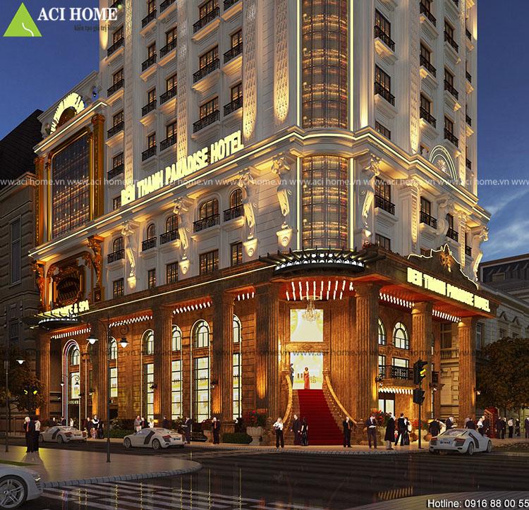 Thiết kế khách sạn cổ điển