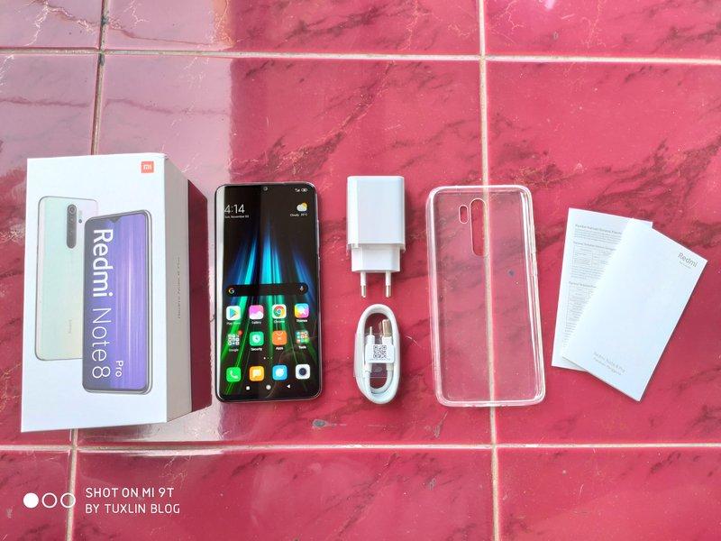 Paket Pembelian Xiaomi Redmi Note 8 Pro