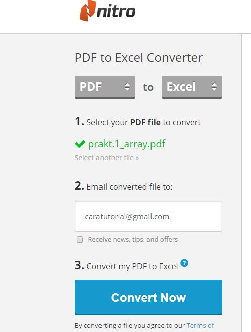 Konversi Dari Pdf Ke Excel : konversi, excel, Merubah, Dengan, Mudah, Cepat, Tutorial, Terbaru
