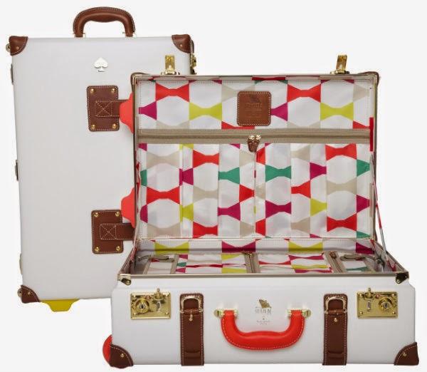 huge discount b61f3 85aa6 Hip Candy : Travel Tuesday: Fun Kate Spade Stowaway Luggage...