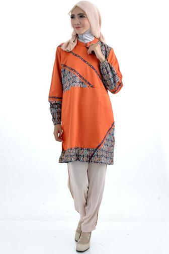 Model Baju Batik Kerja Terpopuler
