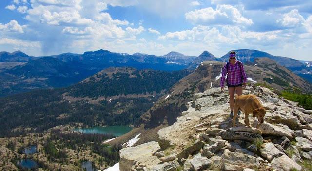 Hiking to Notch Mountain (West Summit), Uintas