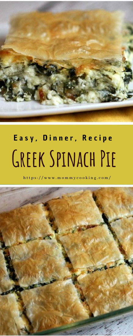 Greek Spinach Pie #dinner #recipe #lunch