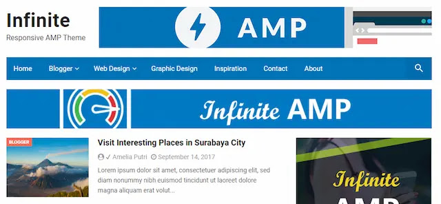how to add amp to blogger templates