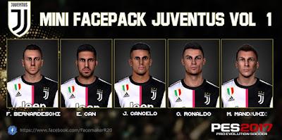PES 2017 Facepack Juventus 2019 by R.20
