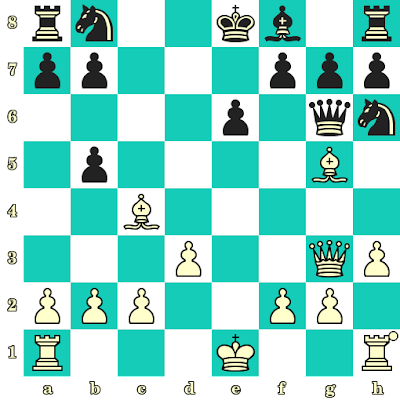 Les Blancs jouent et matent en 2 coups - Richard Teichmann vs NN, Berlin, 1914