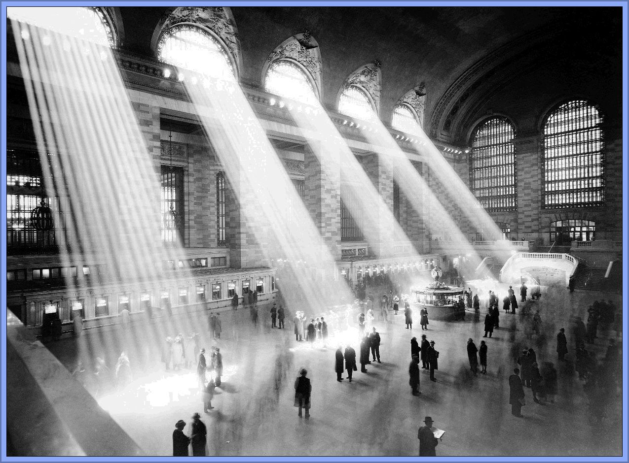 No pc views grand central station - Grand tableau new york ...