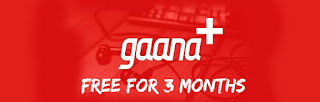 [Over Now ] Gaana Plus 3 Months Subscription For Free