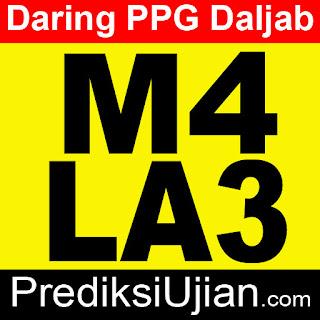 Jawaban PPG Daljab Formatif M4 LA3