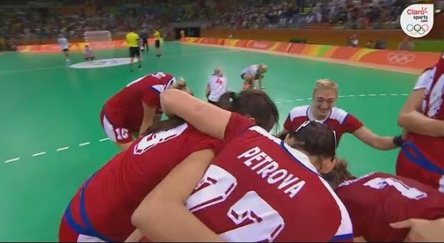 Rusia finalista handball Rio 2016