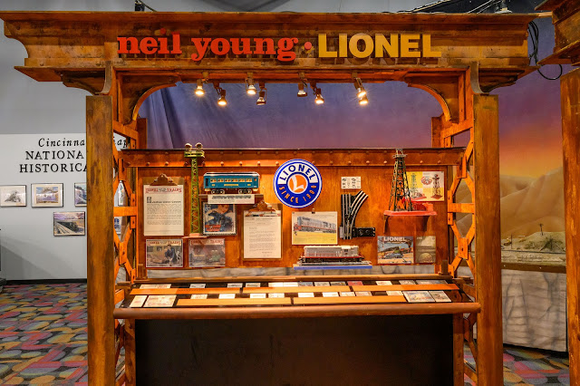 Neil Young's Lionel Train exhibit
