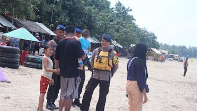 Ciptakan Suasana Aman Malam Pergantian Tahun Tim Brimob Polda Banten Siagakan Personil