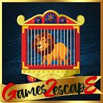 G2E Rescue Of Circus Lion