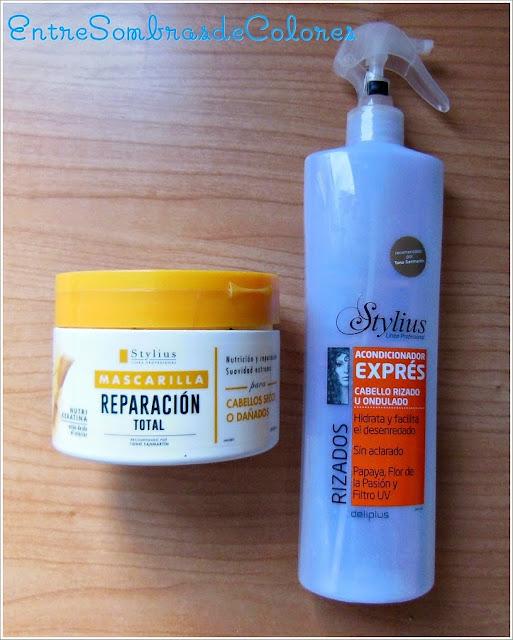 mascarilla reparación total y acondicionador expres Stylius (Mercadona)