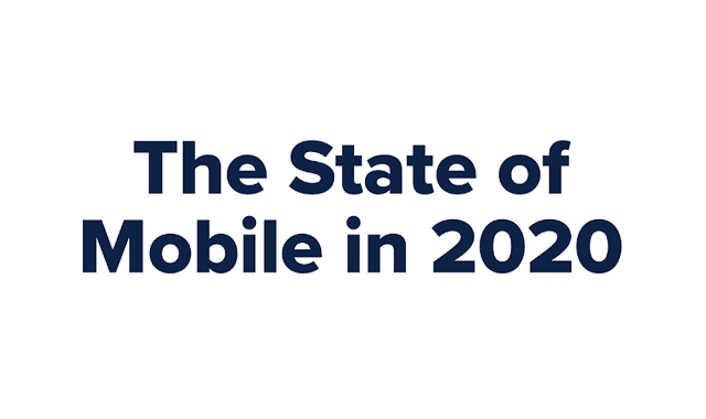 The State of Mobile in 2020 #Infographic