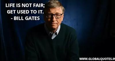 BILL GATES QUOTE ON SUCCESS