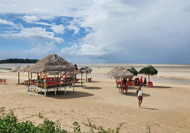 Praia do Pesqueiro Ilha de Marajó