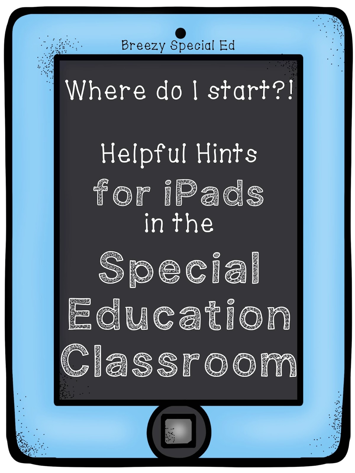 IPads In The Special Education Classroom